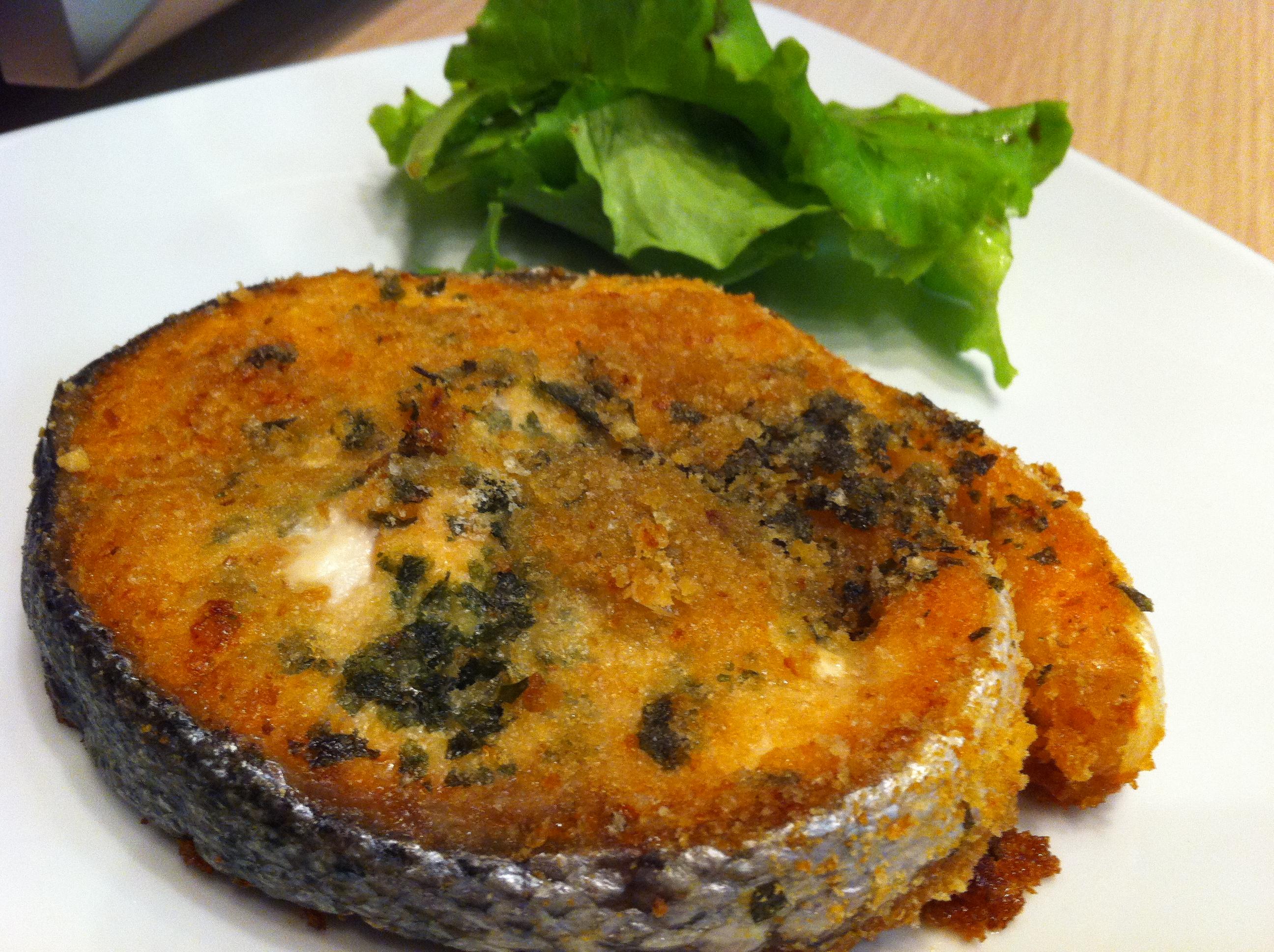 Medaglioni di salmone gratinati le ricette di dani co for Salmone ricette