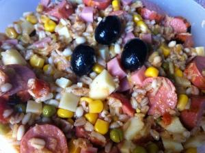 insalata ai 5 cereali